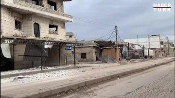 Habertürk Idlib'de ateş hattinda!
