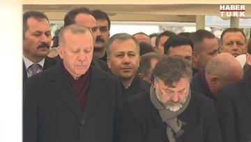 Cumhurbaşkanı Erdoğan, Leyla Şahin Usta'nın babası Alaaddin Şahin'in cenaze namazına katıldı