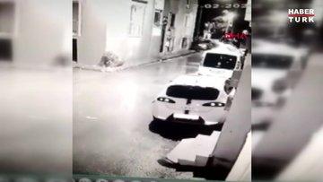 15 saniyede otomobil hırsızlığı kamerada