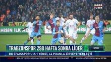 Trabzonspor 298 hafta sonra lider