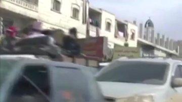 Habertürk hayalet şehirde Suriyeli muhalifler ve sivillerle konuştu