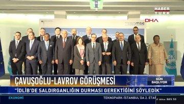 Çavuşoğlu-Lavrov Görüşmesi