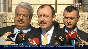 AK Parti Grup Başkanvekili Mehmet Muş açıklamalarda bulundu