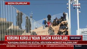 Taksim Meydanı için flaş karar
