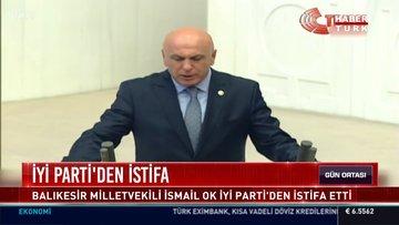 İYİ Parti'den istifa
