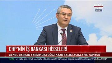 CHP'nin İş Bankası hisseleri