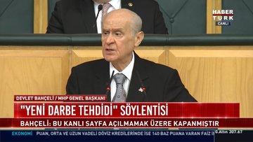MHP lideri Bahçeli'den açıklamalar