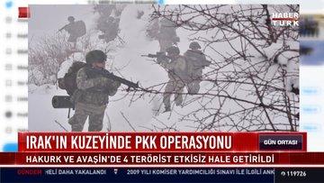 Irak'ın kuzeyinde PKK operasyonu