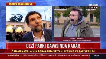 Gezi Parkı davasında karar! Osman Kavala için tahliye