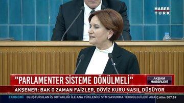 """""""Parlamenter sisteme dönülmeli"""""""
