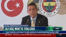 Ali Koç MHK'ye yüklendi
