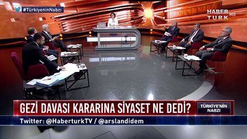 Türkiye'nin Nabzı - Gezi davası kararının siyasi yansımaları nasıl olur? (19 Şubat 2020)