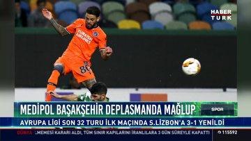 Medipol Başakşehir deplesmanda mağlup