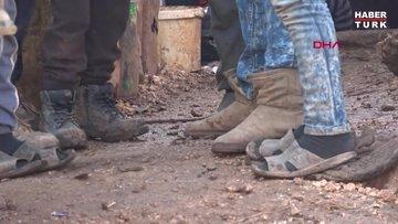 'Babam öldükten sonra kimse bana ceket almıyor' diyen Suriyeli çocuğa mont yardımı