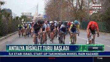 Antalya bisiklet turu başladı
