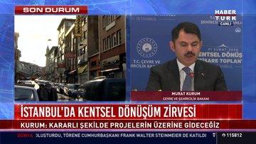 İstanbul'da kentsel dönüşü zirvesi
