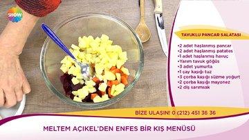 Tavuklu Pancar Salatası nasıl yapılır? İşte tarifi