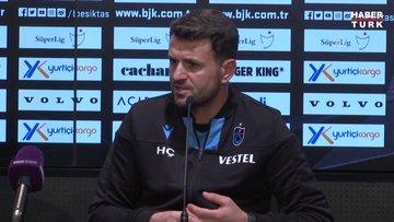 Beşiktaş - Trabzonspor maçının ardından Hüseyin Çimşir'in açıklamaları