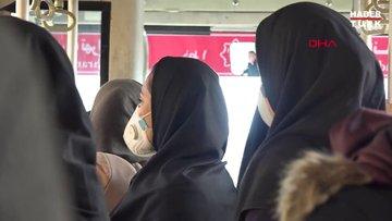 İran'da koronavirüs paniği: Maskeyle geziyorlar