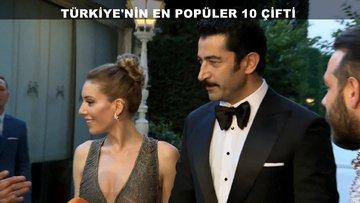 Türkiye'nin en popüler 10 çifti