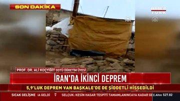İran'da 5.9'luk ikinci deprem meydana geldi! İşte ayrıntılar...