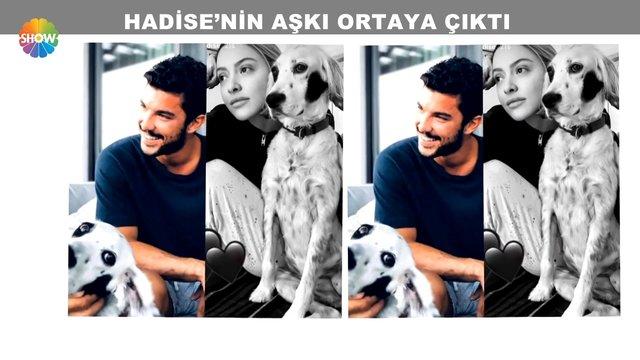 Hadise'nin aşkı ortaya çıktı!