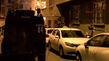 İstanbul Esenler'de terör operasyonu: 3 gözaltı