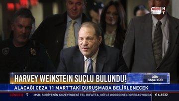 Harvey Weinstein, ABD'de tecavüz ve cinsel saldırı davasında suçlu bulundu