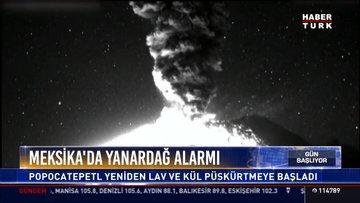 Meksika'da yanardağ alarmı