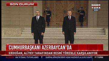 Cumhurbaşkanı Azerbaycan'da