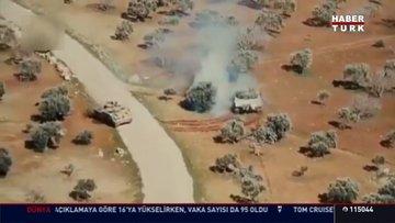 Muhalifler rejimin tankını kovaladı