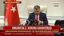 Sağlık Bakanı Koca'dan koronavirüs açıklaması