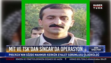 MİT ve TSK'dan Sincar'da operasyon