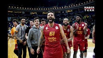 Fenerbahçe Beko: 75 - Galatasaray Doğa Sigorta: 80   MAÇ SONUCU!
