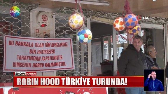 ''Robin Hood'' Türkiye turuna devam ediyor!