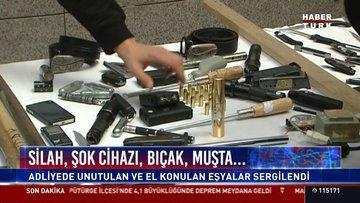 Silah, şok cihazı, bıçak, muşta...