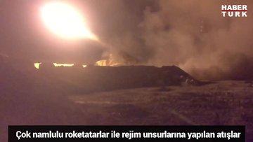 TSK, Rejim unsurlarını böyle vurdu
