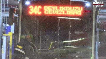 İstanbul'da metrobüs ve duraklarda 'Koronavirüs' önlemi