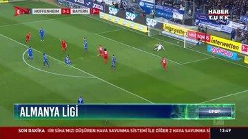 Bayern Münih, Hoffenheim'i 6-0 mağlub etti