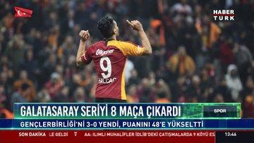 Galatasaray seriyi 8 maça çıkardı