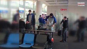 Ergin Ataman'dan uçağa giriş sırasında yapılan aramaya tepki