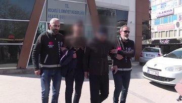 Özel düzenekli çantayla mağazalardan kıyafet çaldıkları iddiasıyla 6 kişi yakalandı
