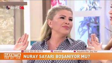 Astrolog Nuray Sayarı canlı yayında eşi tarafından şiddet gördüğünü itiraf etti!