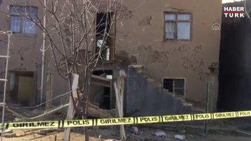 Kerpiç evin balkonunun çökmesi sonucu bir kişi öldü