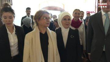 Emine Erdoğan: Artık kadınlarımız ayrımcılığa maruz kalmadan eğitim ve iş hayatına katılıyor