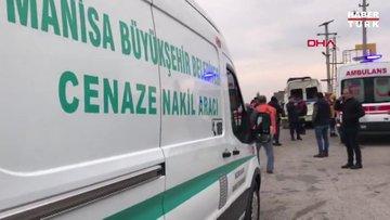 Servis minibüsü ve 2 TIR'ın karıştığı zincirleme kaza: 2 ölü, 8 yaralı!