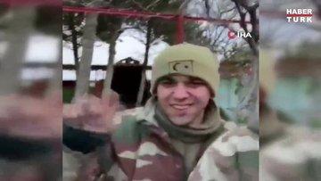 Şehitlerin İdlib'e giderken helallik istedikleri görüntüler ortaya çıktı