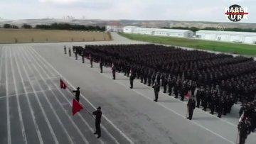Polis Akademisi öğrencileri, İdlib şehitlerini andı