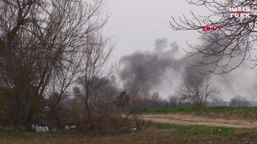 Sınıra göçmen akınında 6'ncı gün; Yunan güvenlik güçleri ateş açtı