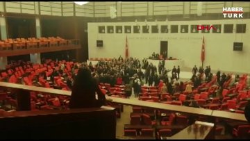 Meclis'te İdlib gerginliği